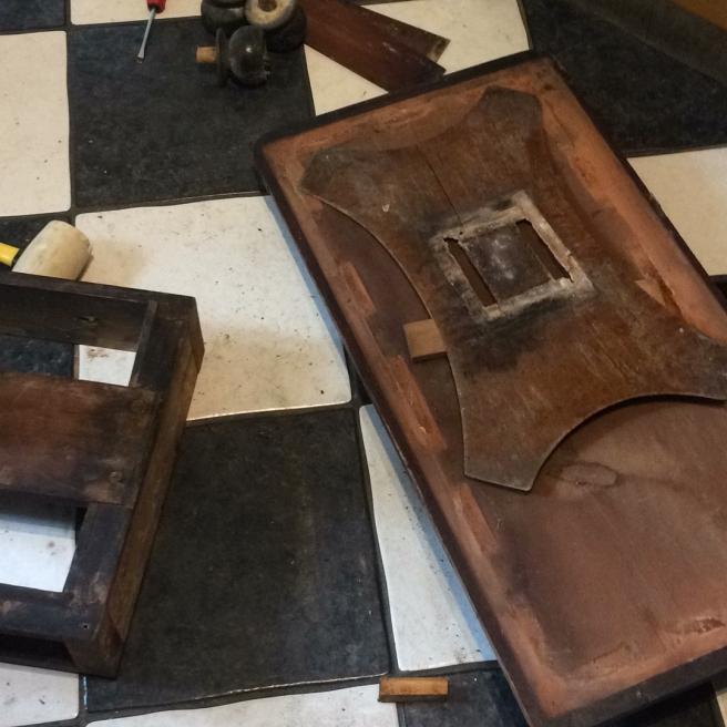 Regency Card Table